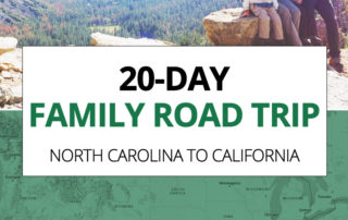 20-day Family Road Trip