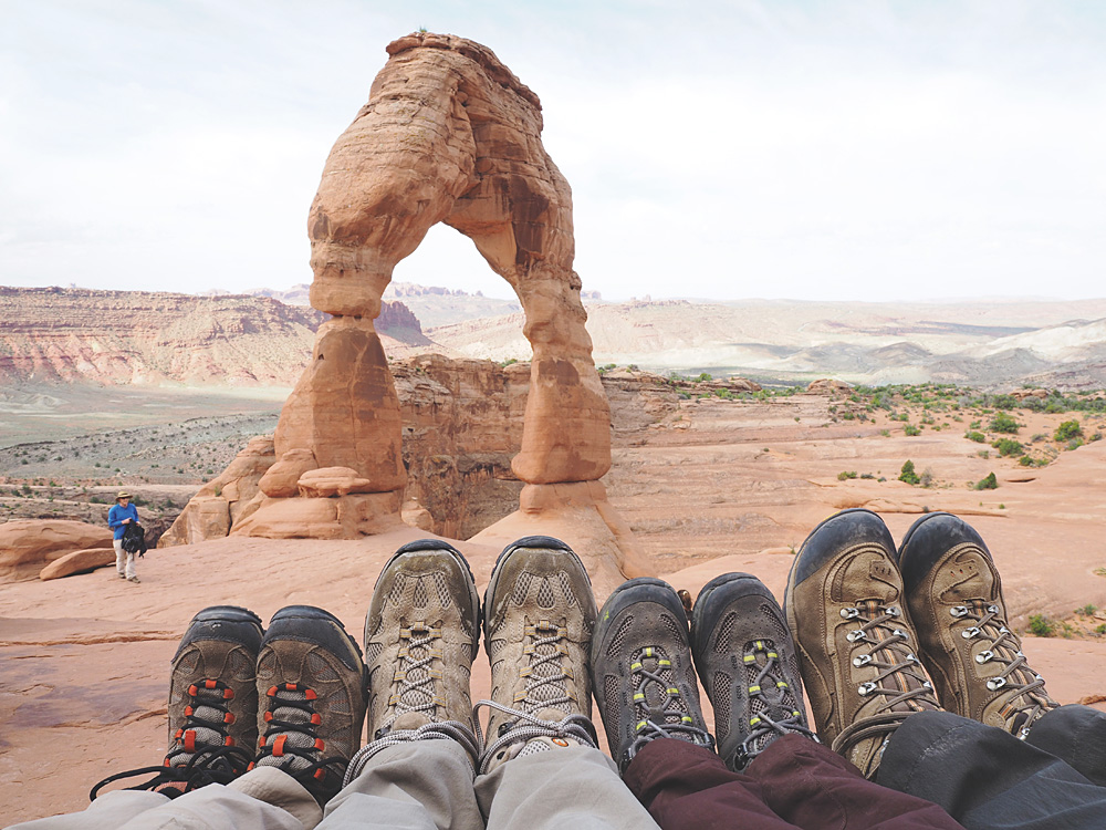 Hiking With Kids Arches National Park Delicate Arch