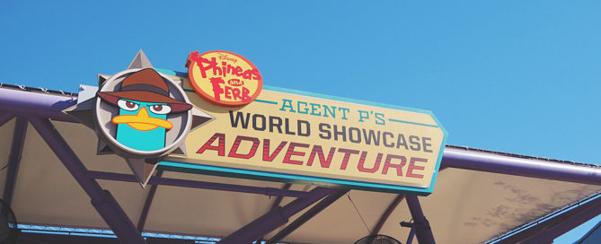 EPCOT Agent P World Showcase Adventure