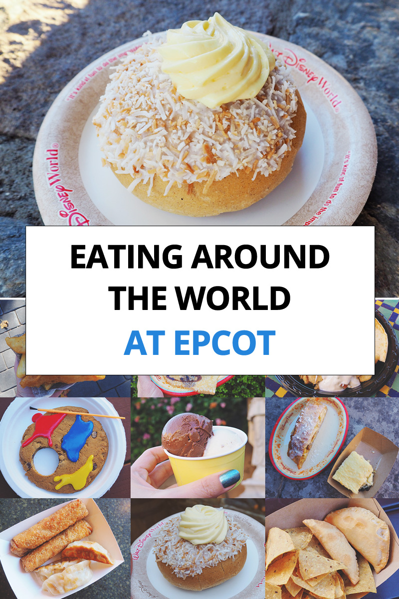 Eating Around the World at EPCOT Walt Disney World