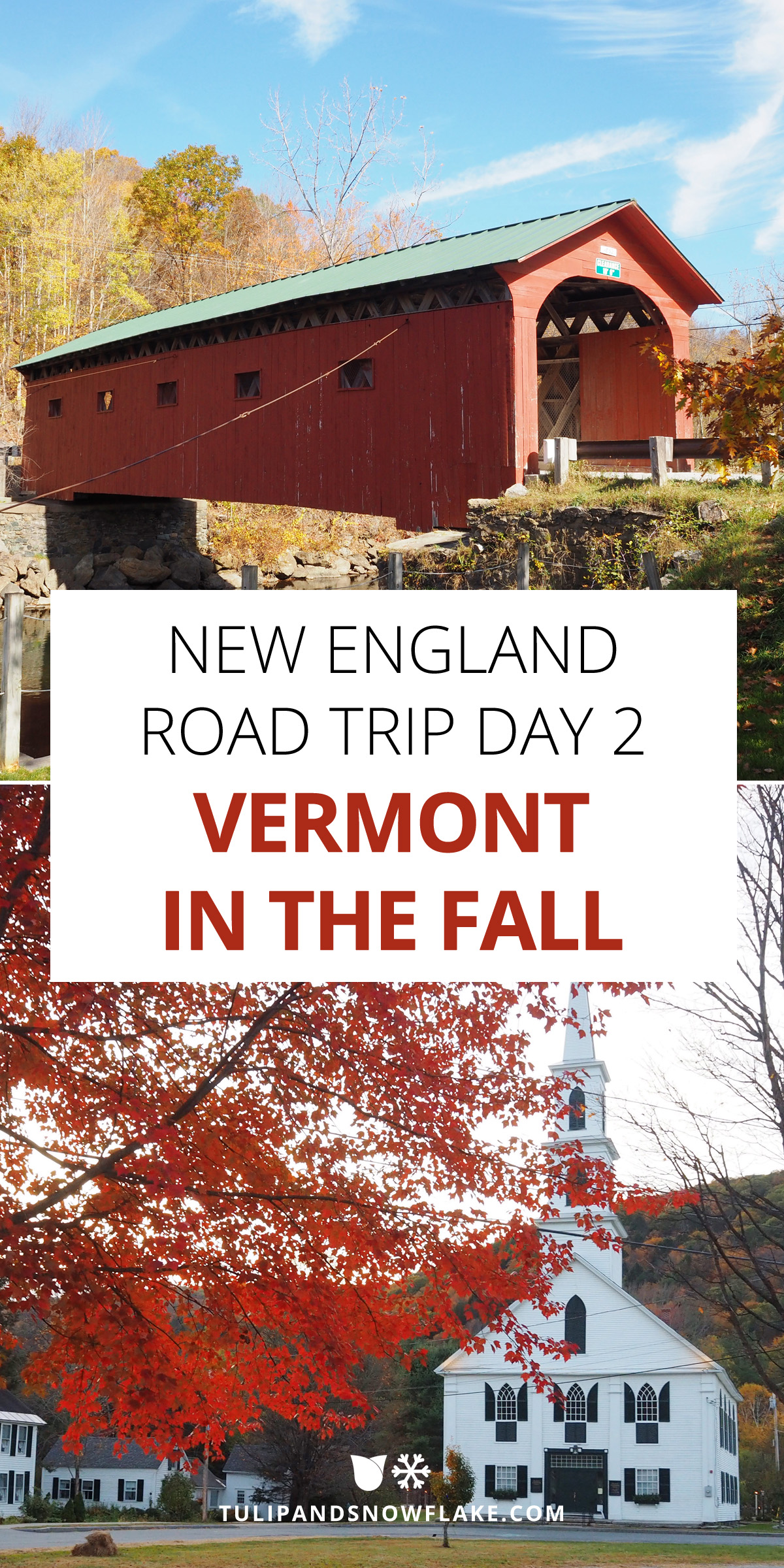 New England In The Fall Road Trip