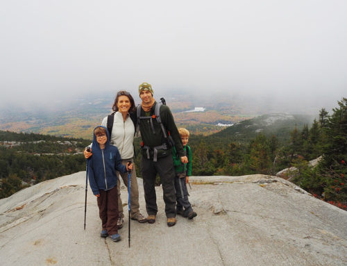 New England Road Trip day 3 – Mount Monadnock with Zero Visibility