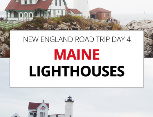 New England Road Trip day 4 – Maine Lighthouses