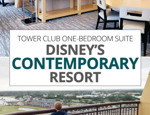Disney's Contemporary Resort Tower Club One-Bedroom Suite