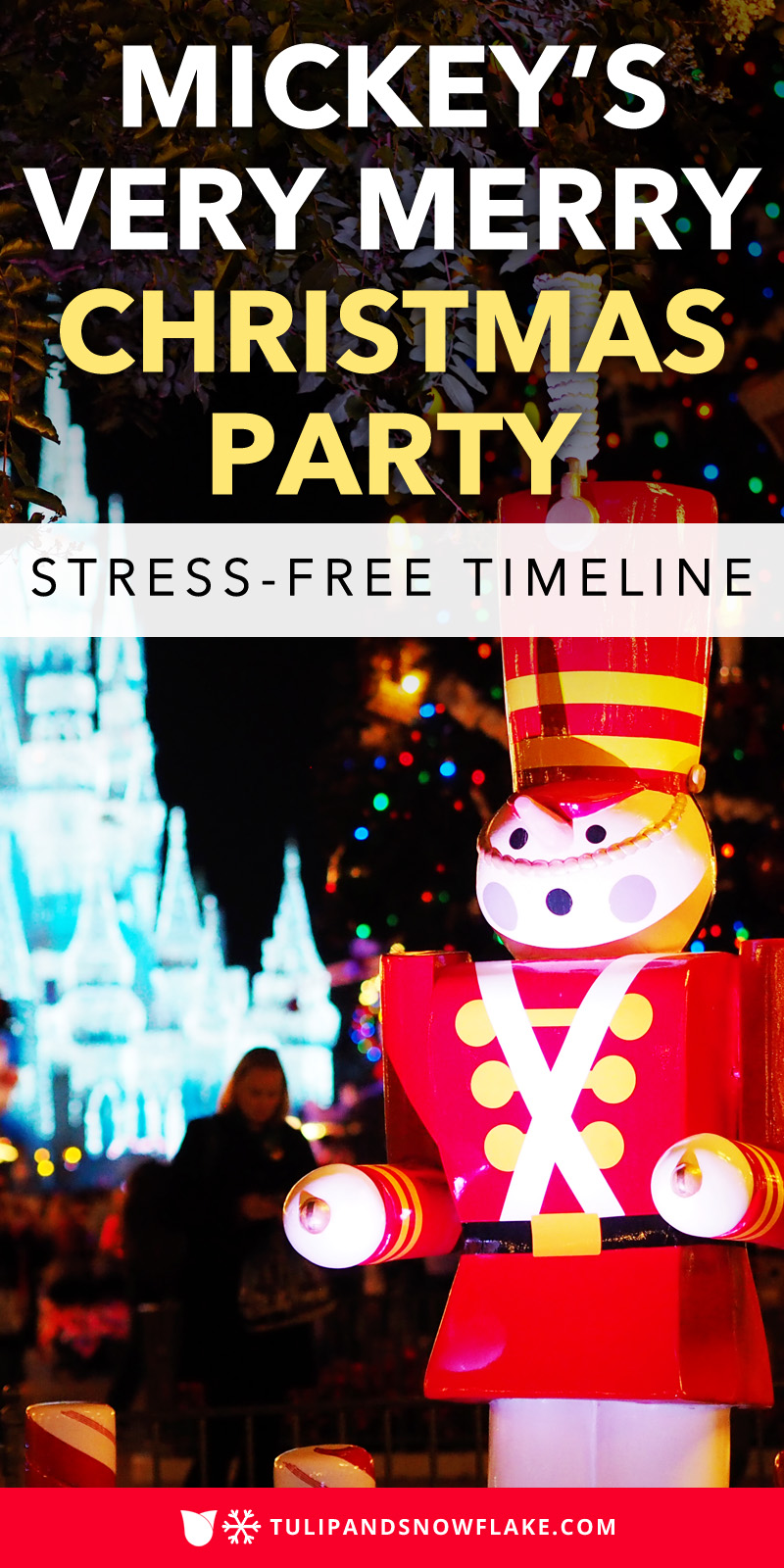 Mickey's Very Merry Christmas Party timeline