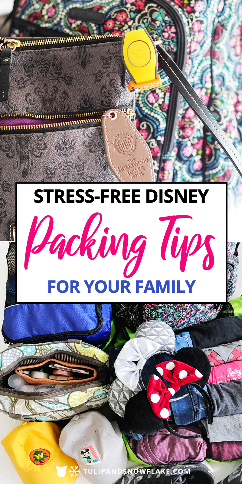 Disney Packing Tips for Family