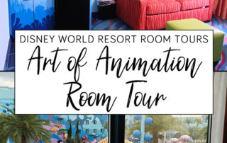 Disney's Art of Animation Finding Nemo family suite room tour