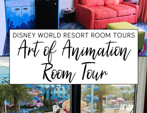 Disney Art of Animation Resort Finding Nemo Family Suite Room Tour