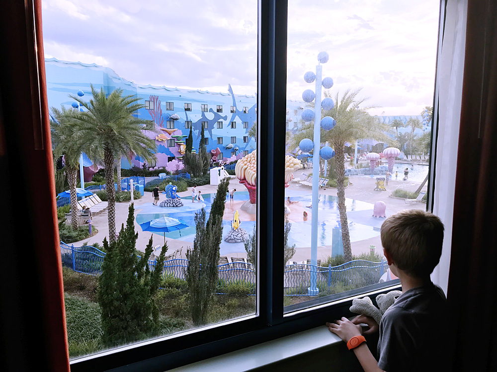 Disney's Art of Animation Resort Finding Nemo view