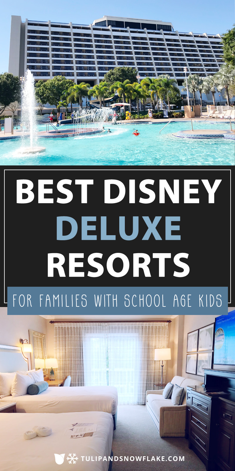 Best Disney deluxe resorts for families with school age kids