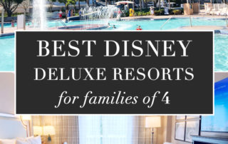 Best Disney deluxe resorts for families of 4
