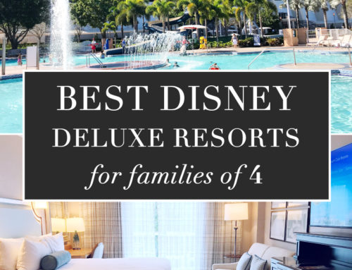Best Disney World Deluxe Resorts for Families of 4