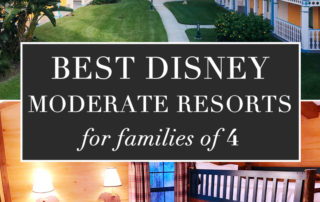 Best Disney moderate resorts for families of 4