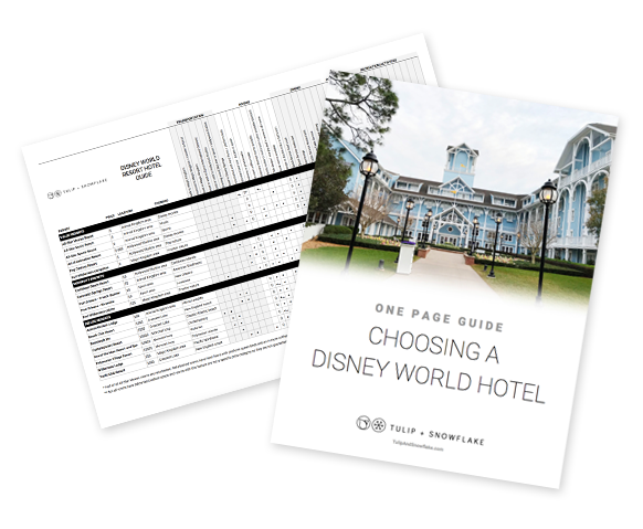 Choosing A Disney World Hotel