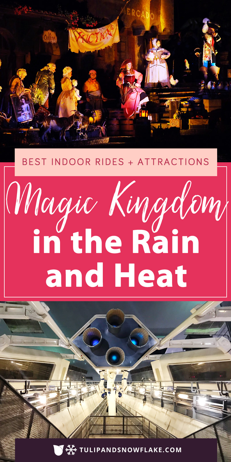Magic Kingdom in the Rain and Heat