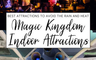 Magic Kingdom Indoor Attractions
