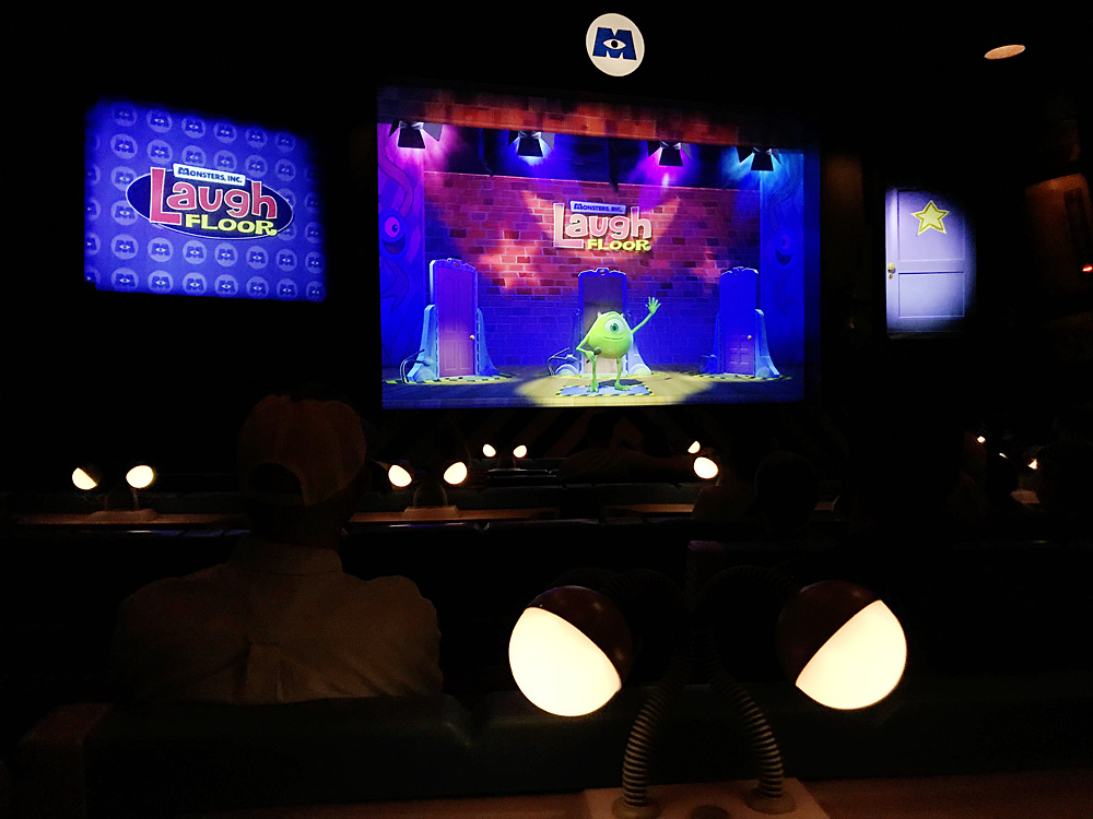 Monster's Inc Laugh Floor