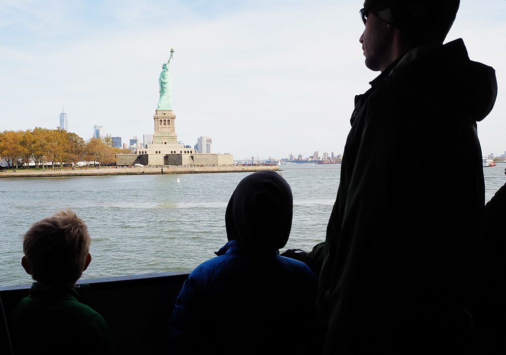 Statue of Liberty Crown ferry