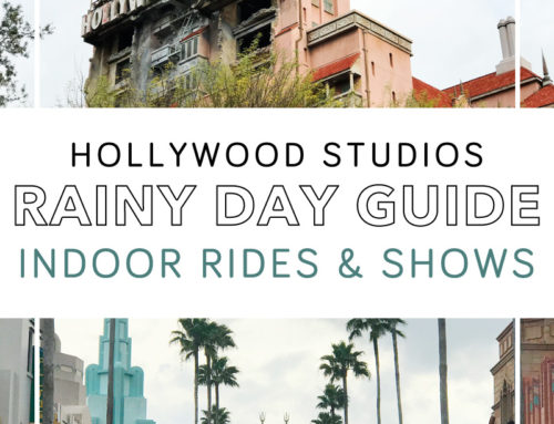 Disney Hollywood Studios Rain Strategy – Indoor Shows and Rides