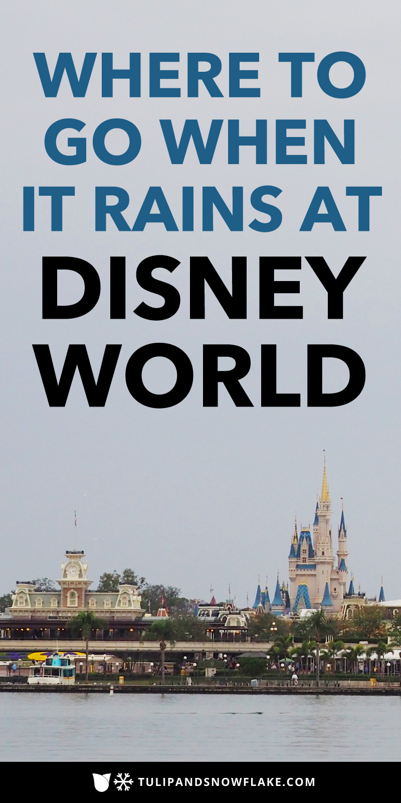 Summer rain tips Disney World