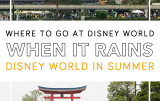 Where to go at Disney World when it rains