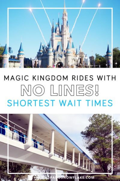 Magic Kingdom Rides with No Lines