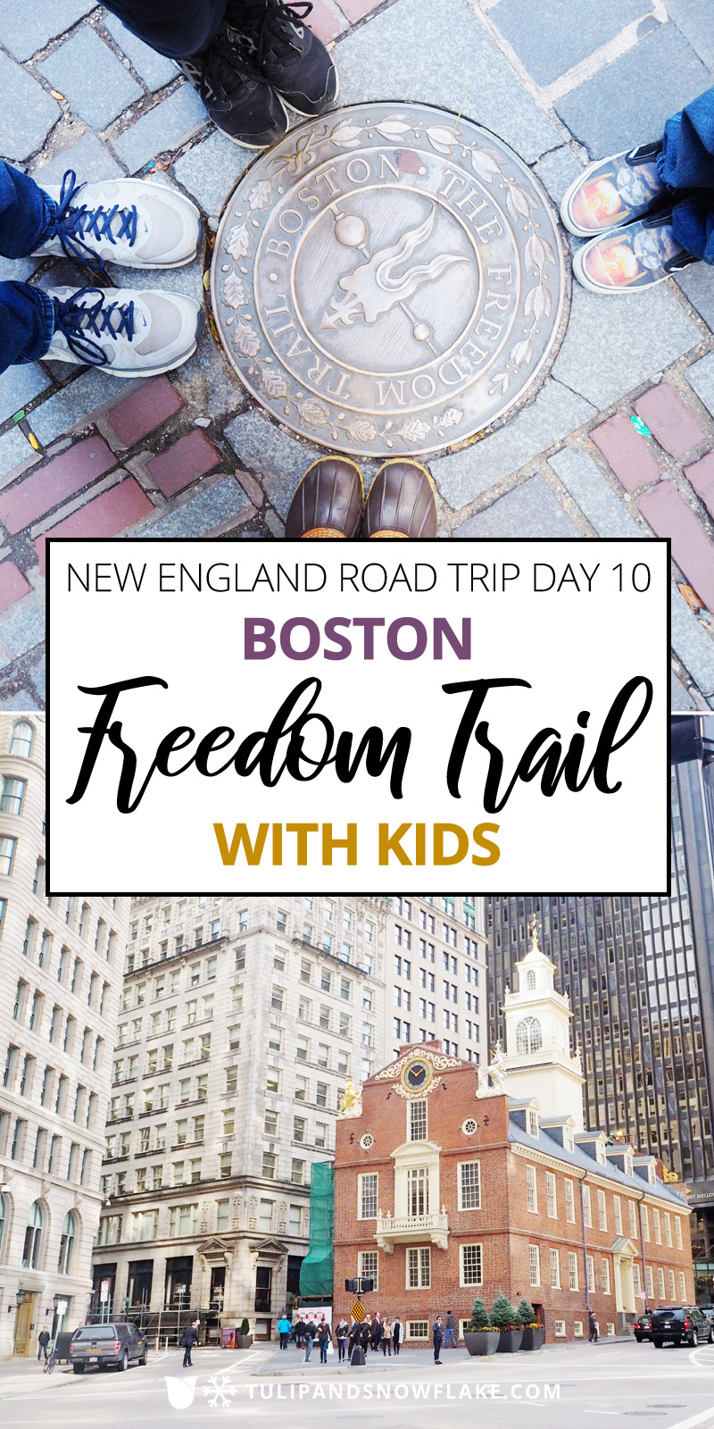 Boston Freedom Trail with Kids