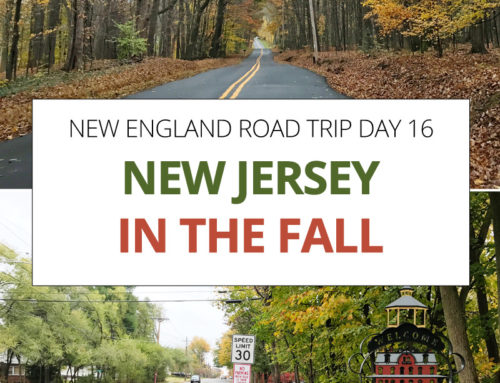 New England Road Trip day 16 – New Jersey in the Fall