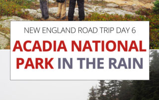 Acadia National Park in the Rain