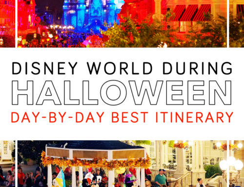 The Best Disney World Halloween Itinerary