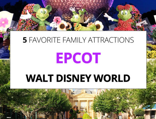Our Family's Top 5 EPCOT Attractions