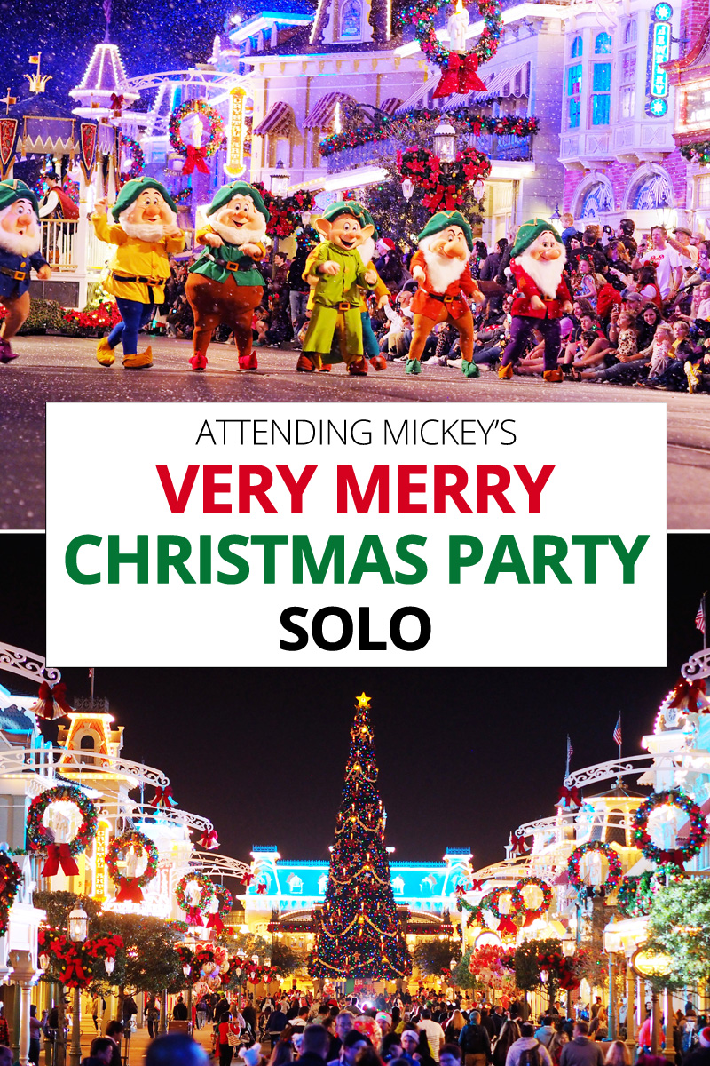Christmas Solo.Attending Mickey S Very Merry Christmas Party Solo
