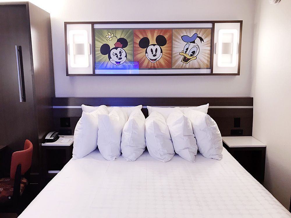 Disney's All-Star Movies Resort bed