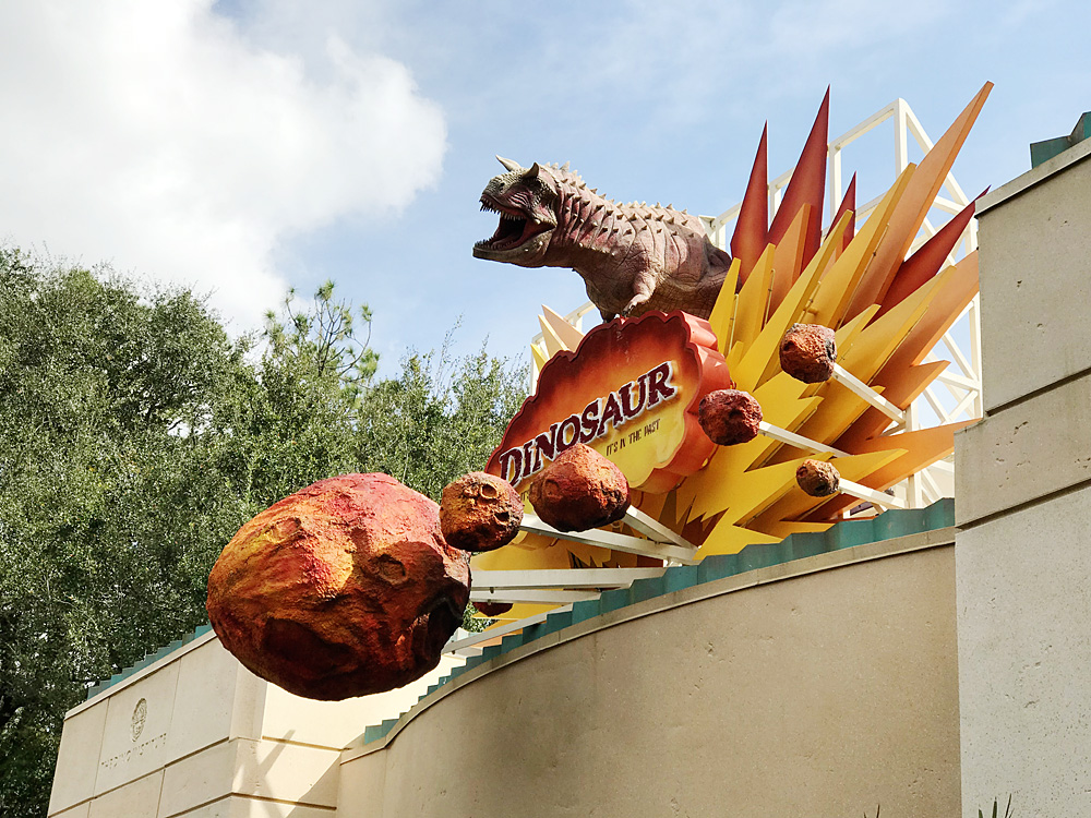 Disney Animal Kingdom Dinosaur ride