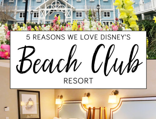 5 Reasons We Love Disney Beach Club Resort