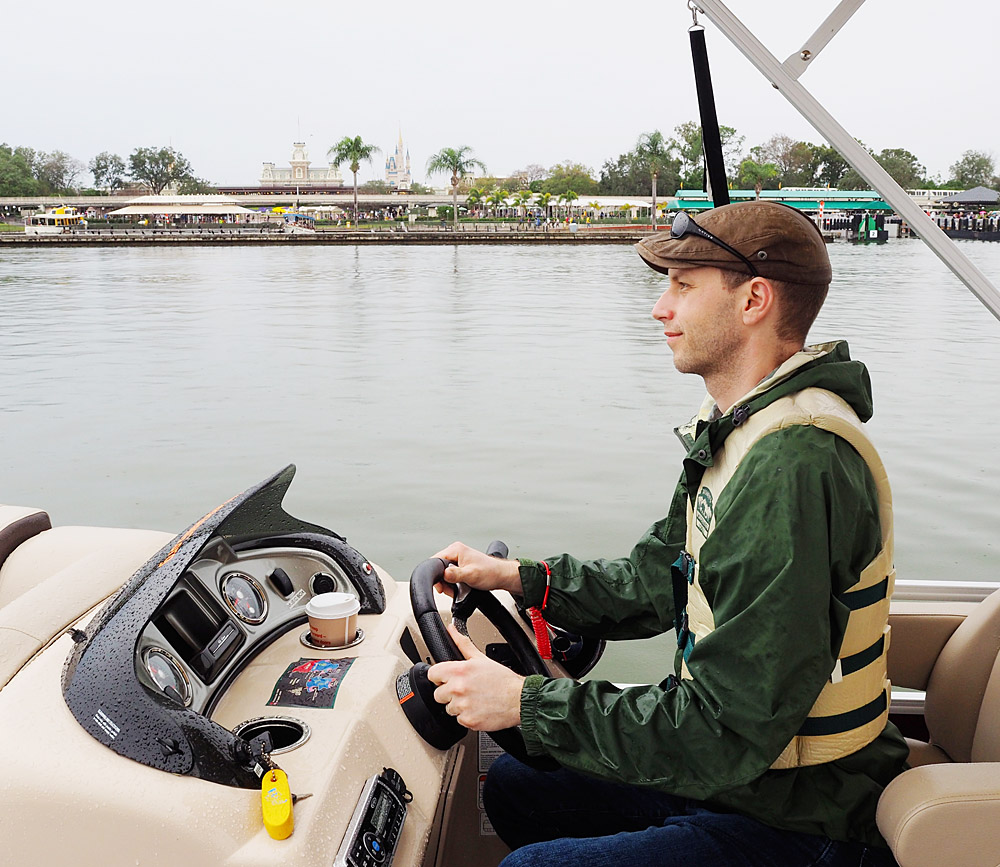 Boat Rental at Disney World