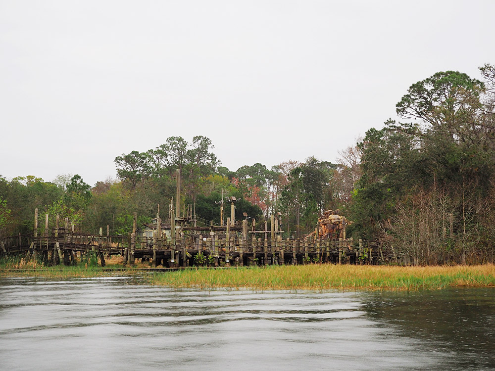 Disney World boat rental River Country