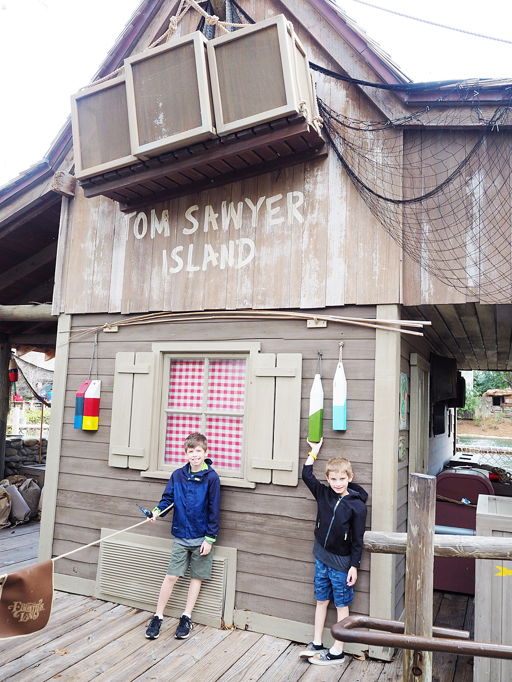 Disney World Tom Sawyer Island