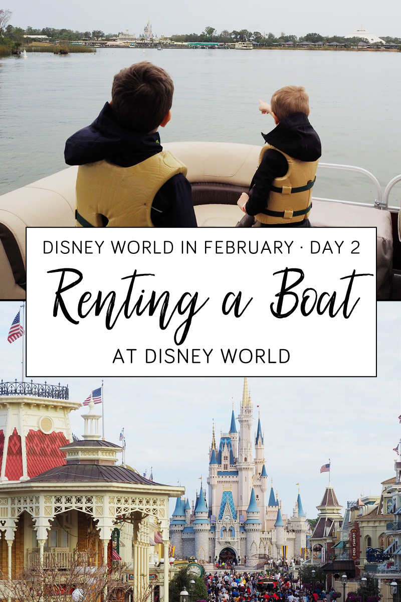 Renting a Boat at Walt Disney World