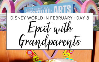 Epcot with Grandparents