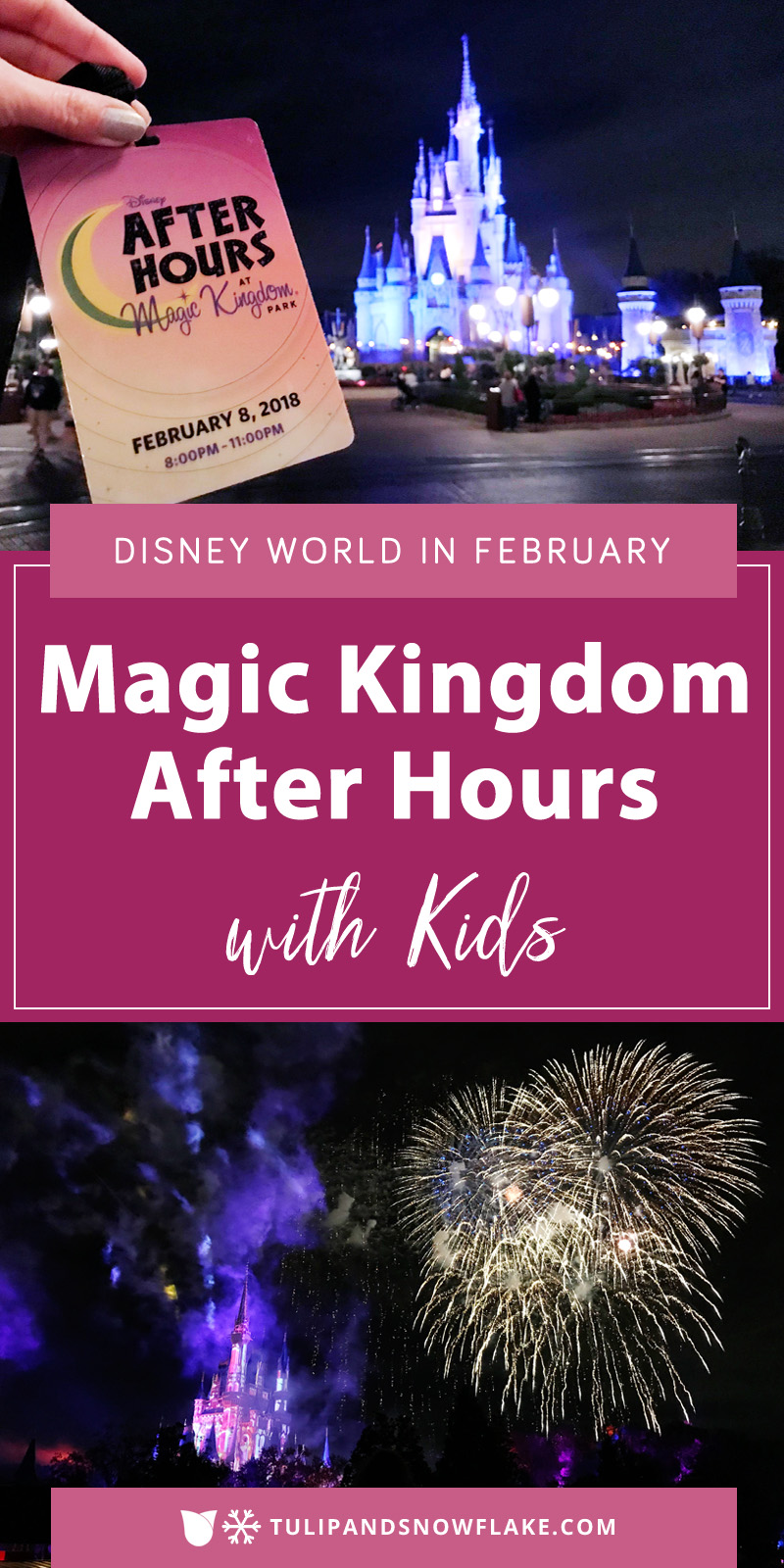 Magic Kingdom After Hours with Kids