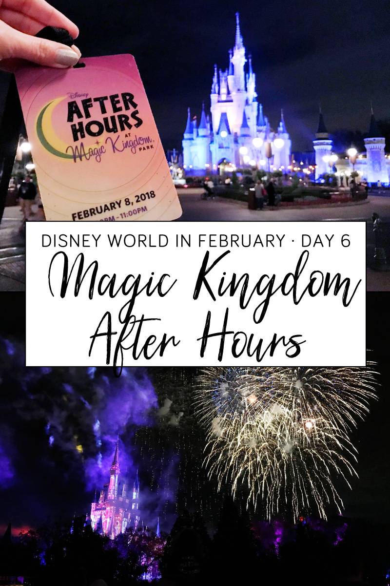 Magic Kingdom After Hours