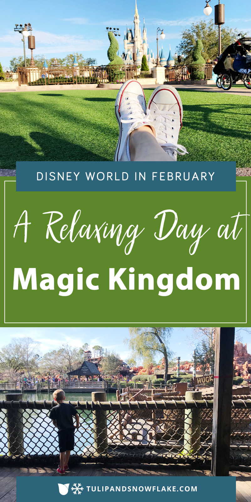 Relaxing Day at Magic Kingdom