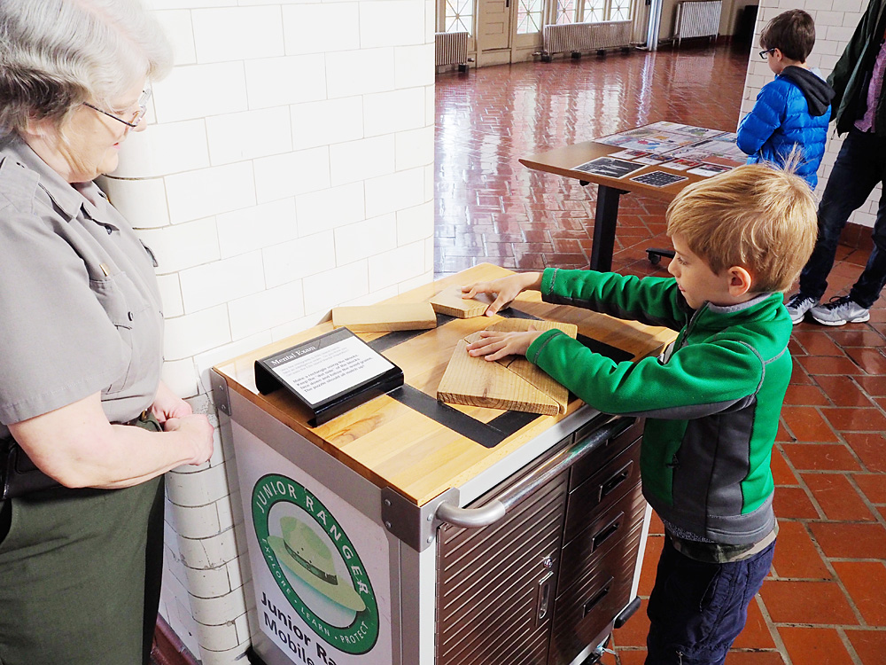Ellis Island Immigration Museum Junior Ranger Program