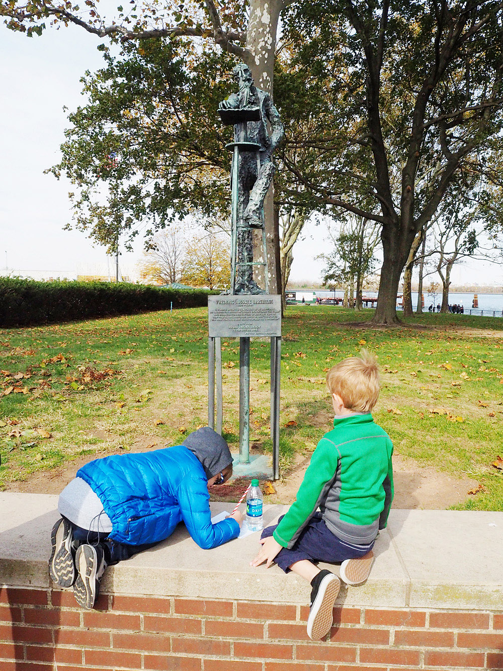 Statue of Liberty Junior Ranger Program