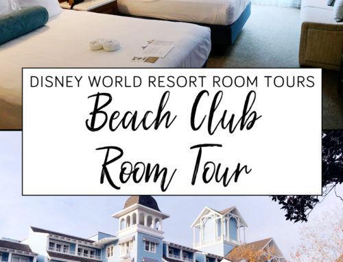 Disney Beach Club Resort Room Tour