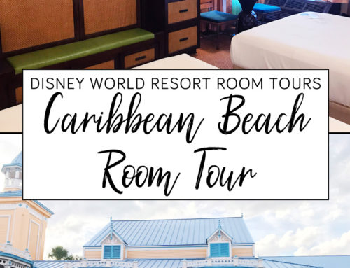Disney Caribbean Beach Resort Room Tour