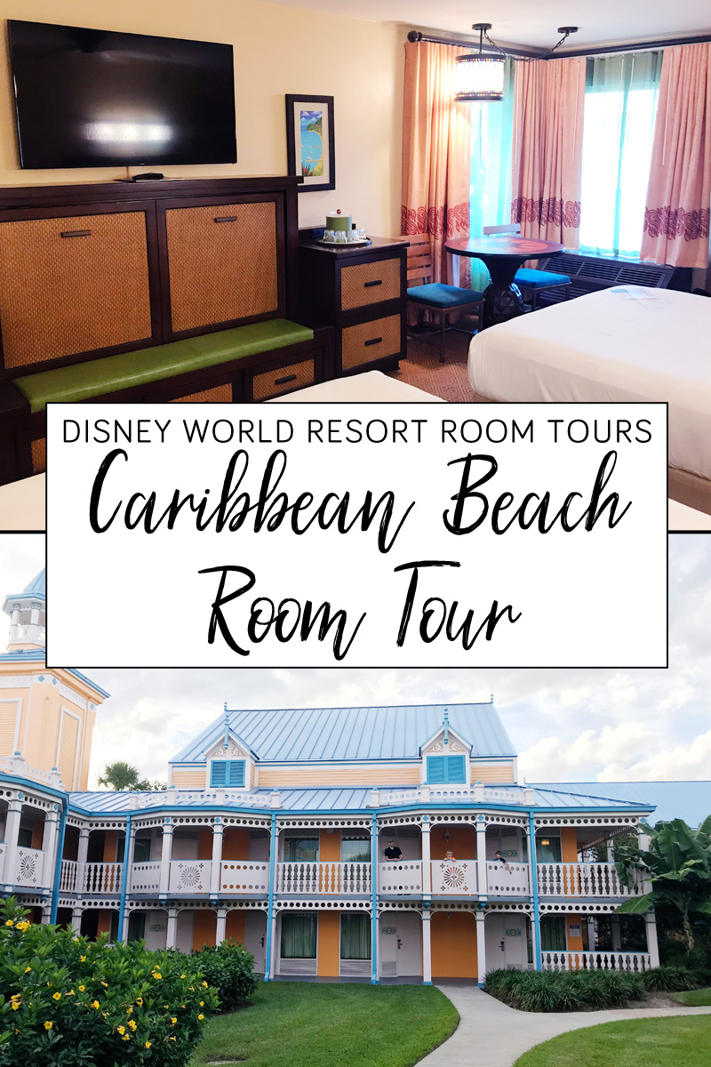 Disney's Caribbean Beach Resort room tour