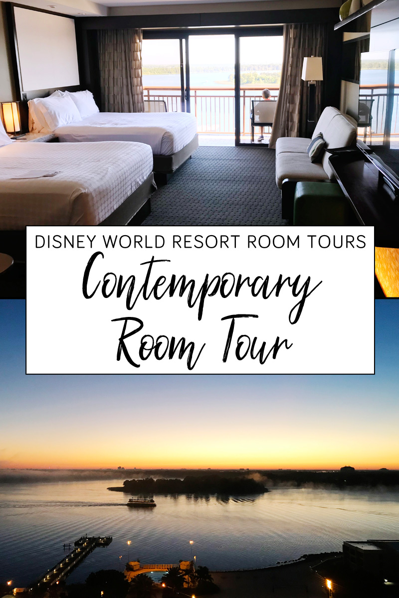 Disney Contemporary Resort room tour