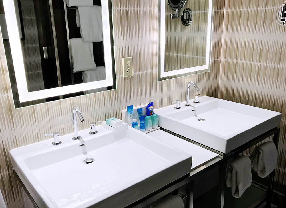 Disney Contemporary hotel bathroom